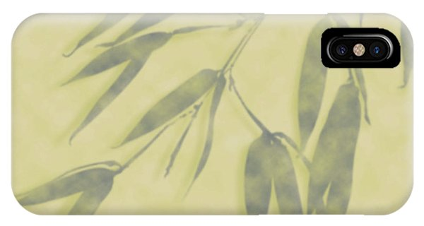Bamboo Leaves 0580b IPhone Case
