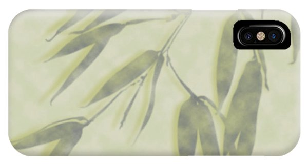 Bamboo Leaves 0580c IPhone Case