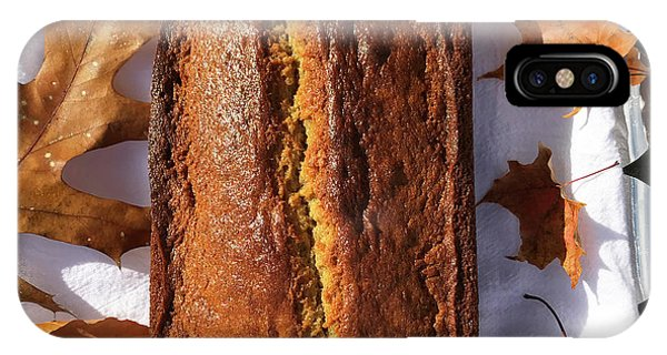 Banana Bread With Rum, Ginger And White Whole Wheat IPhone Case