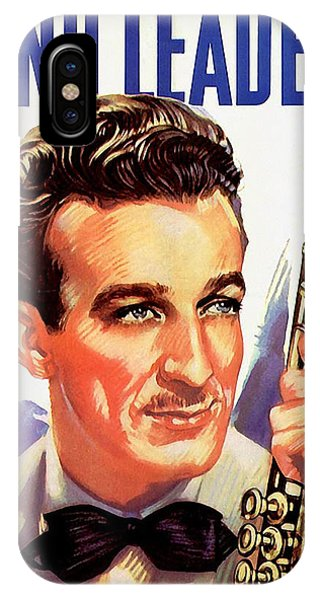 iPhone Case - Band Leaders Harry James, 1931 Poster by Zal Latzkovich