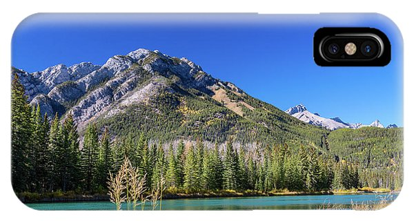 Banff Along The Bow IPhone Case