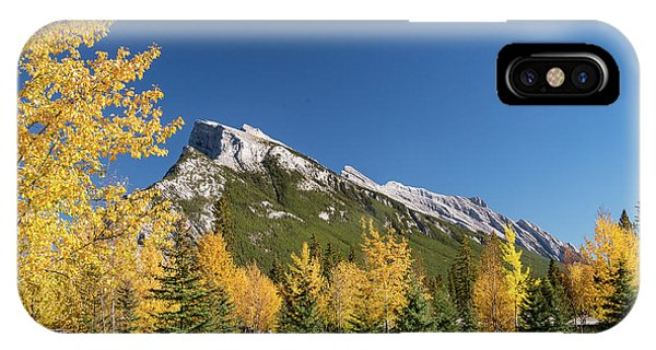 Banff And Mount Rundle IPhone Case