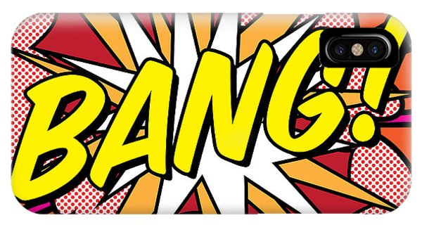 Illustration iPhone Case - Bang by Gary Grayson