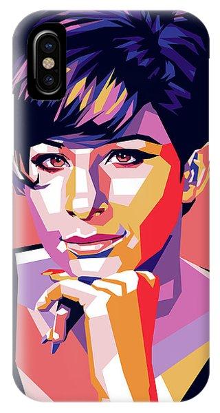 Barbra Streisand Pop Art IPhone Case