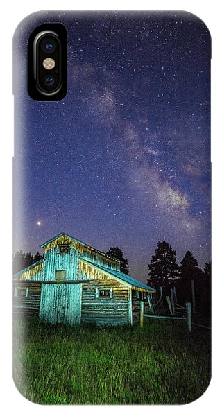 IPhone Case featuring the photograph Barn In Rocky 2 by Gary Lengyel