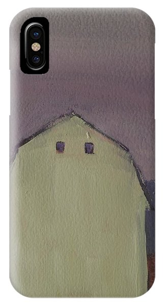 New England Barn iPhone Case - Barn On Cathance Road by Bill Tomsa