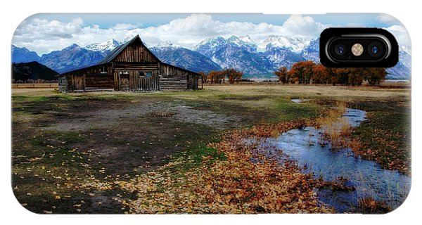 IPhone Case featuring the photograph Barn On Mormon Row by Scott Read
