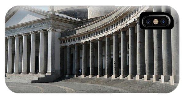 Basilica San Francesco Di Paola IPhone Case