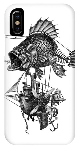 Bass Airship IPhone Case