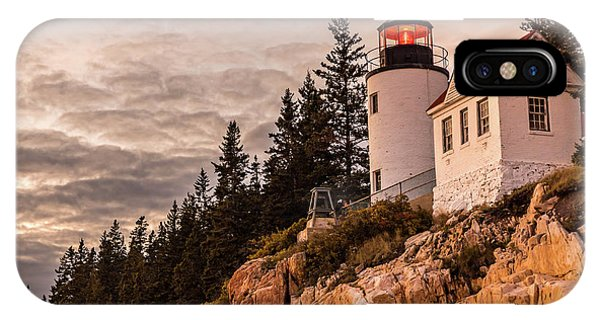 IPhone Case featuring the photograph Bass Harbor Lighthouse by Dan Sproul