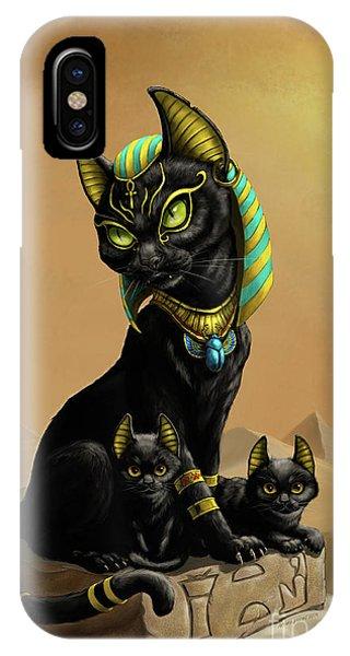 Bastet Egyptian God IPhone Case