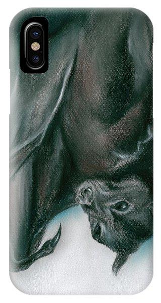 Bat Just Hanging Around IPhone Case