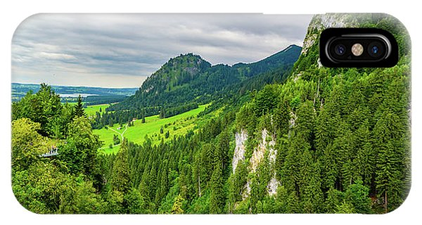 Bavarian Alps Panorama IPhone Case