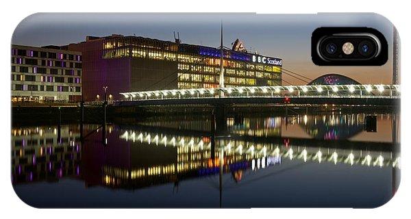Bbc Scotland Studios IPhone Case