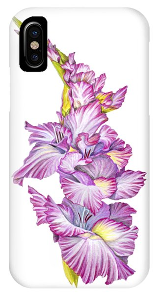 IPhone Case featuring the drawing Be Glad by Nancy Cupp