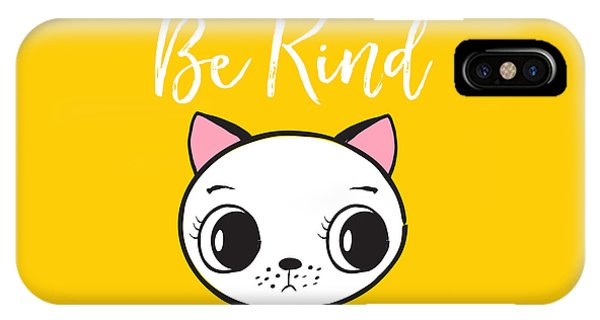 Be Kind - Baby Room Art Poster Print IPhone Case