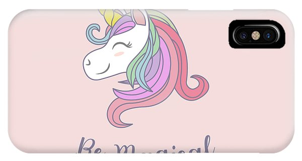 Be Magical - Baby Room Nursery Art Poster Print IPhone Case