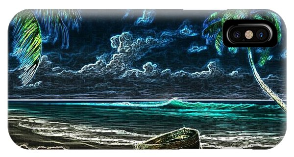 Beach At Night IPhone Case