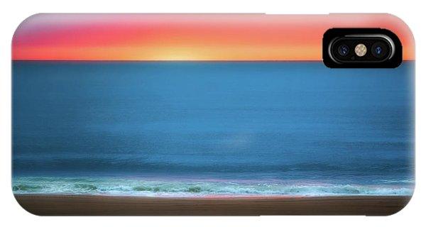 Pacific Ocean iPhone Case - Beach At Sunrise by Tom Mc Nemar
