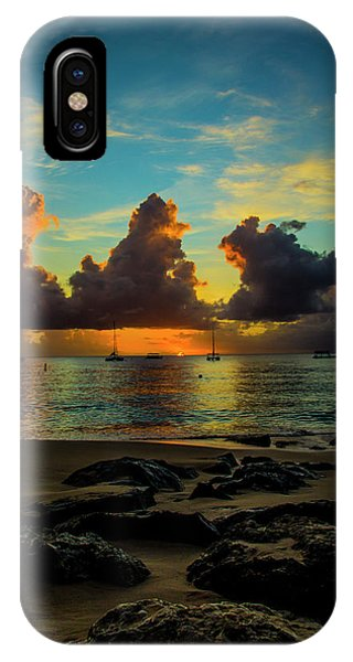 Beach At Sunset 2 IPhone Case