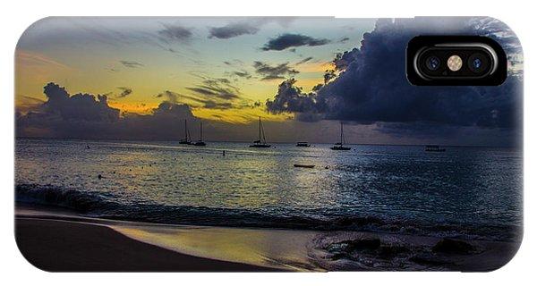 Beach At Sunset 3 IPhone Case