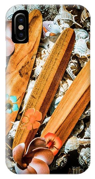 Hawaiian iPhone Case - Beach Boards by Jorgo Photography - Wall Art Gallery