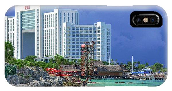 Beach Life In Cancun IPhone Case
