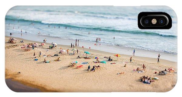 Heat iPhone Case - Beach On The Indian Ocean. India Tilt by Andrey Armyagov
