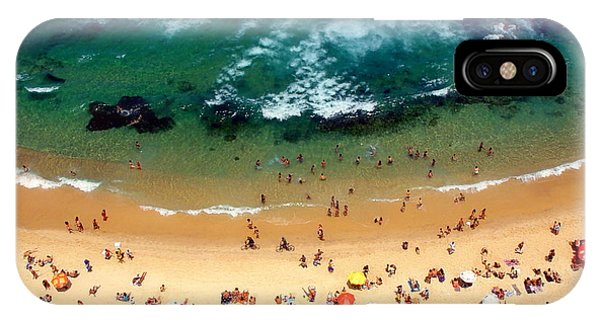 Clear iPhone Case - Beach Smile by Vinicius Tupinamba