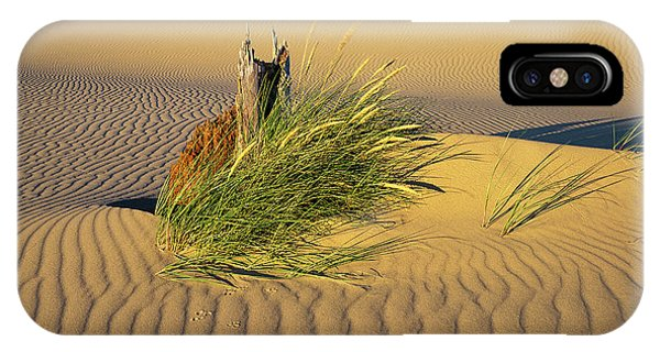 Beachgrass And Ripples IPhone Case