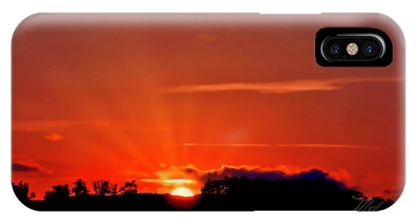 Beacon Heights Sunrise IPhone Case