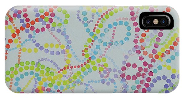 Beads And Pearls - Happy Day IPhone Case