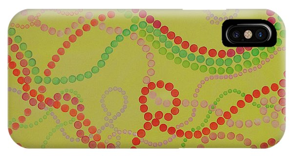 Beads And Pearls  - Happy Girl IPhone Case