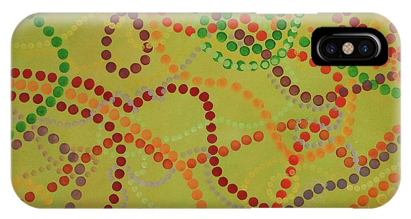 Beads And Pearls - September IPhone Case
