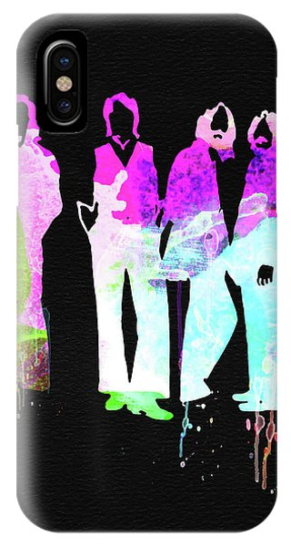 Print iPhone Case - Beatles Watercolor II by Naxart Studio