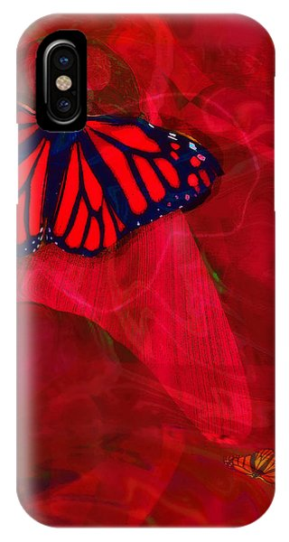 Beautiful And Fragile In Red IPhone Case