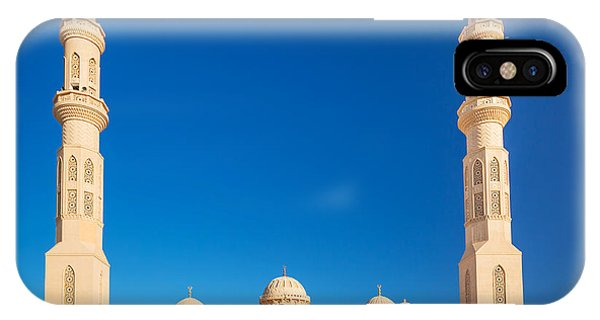 Egyptian iPhone X Case - Beautiful Architecture Of Mosque In by Patryk Kosmider