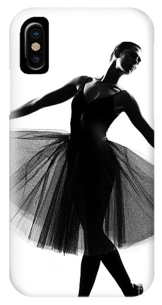 Adult iPhone Case - Beautiful Caucasian Tall Woman Ballet by Ostill Is Franck Camhi