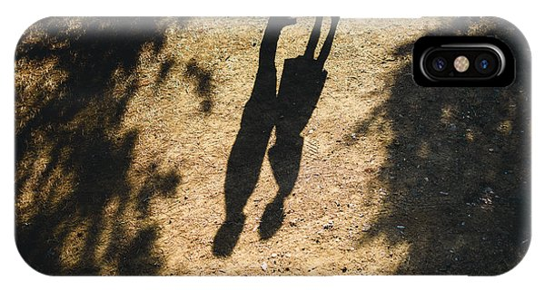 Hug iPhone Case - Beautiful Couple Walking In The Forest by Oleksandr Medvedenko