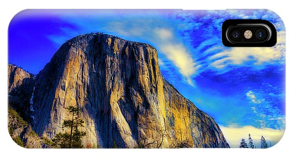 Treeline iPhone Case - Beautiful El Capitan by Garry Gay