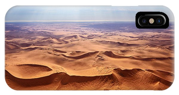 Airplanes iPhone Case - Beautiful Landscape Of The Namib Desert by Oleg Znamenskiy