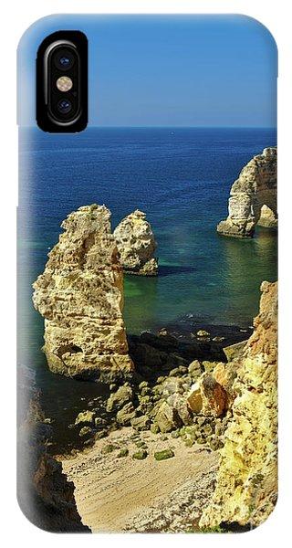 Beautiful Marinha Beach From The Cliffs IPhone Case