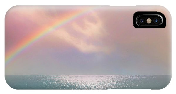 Beautiful Morning In Dreamland With Rainbow IPhone Case