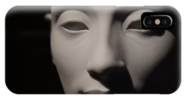 IPhone Case featuring the photograph Beautiful Nefertiti  by Sue Harper