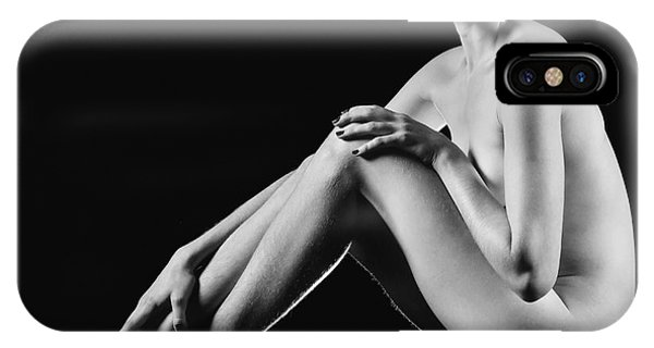 Beautiful Nude Woman Fineart Style IPhone Case