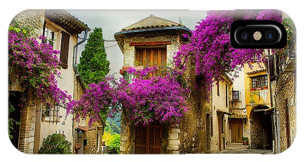 Provence iPhone Case - Beautiful Old Town Of Provence by Konstanttin