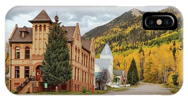 IPhone Case featuring the photograph Beautiful Small Town Rico Colorado by James BO Insogna