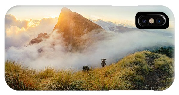 Kerala iPhone Case - Beautiful Sunrise In The Mountains by Nina Lishchuk