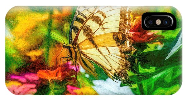 IPhone Case featuring the photograph Beautiful Swallow Tail Butterfly by Don Northup
