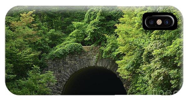Beautiful Tunnel With Greenery, Nc IPhone Case